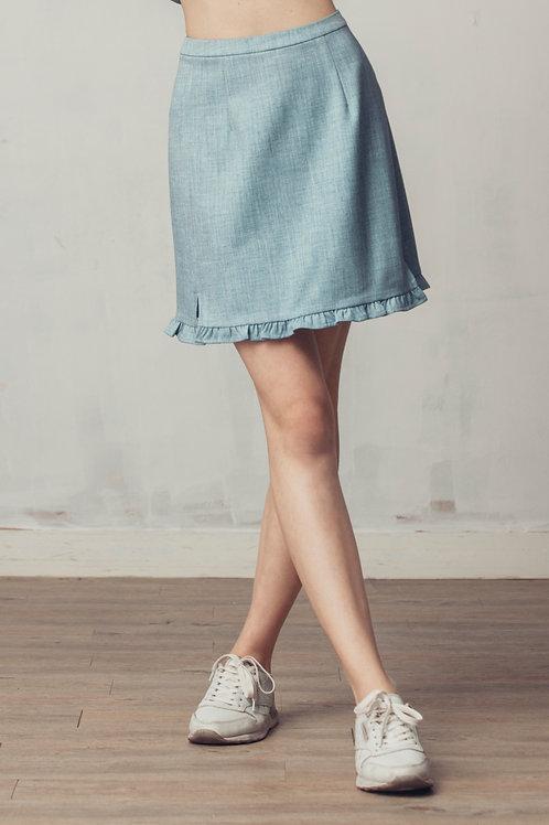 Jena Ruffle Hem Skirt