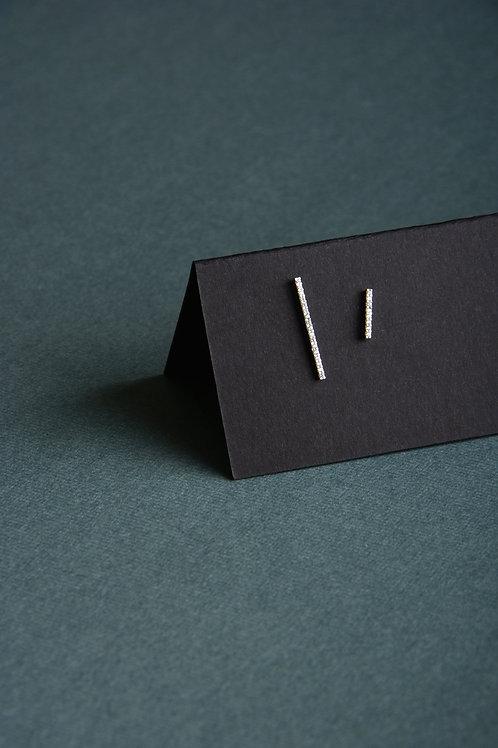 Long Short Line Earrings