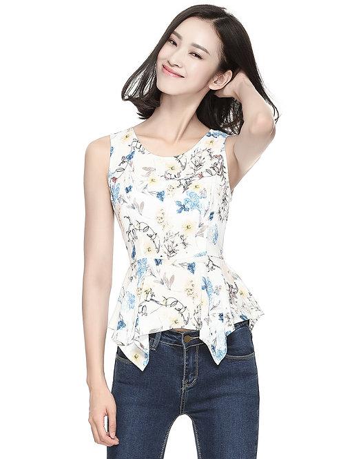 Kendria Floral Top