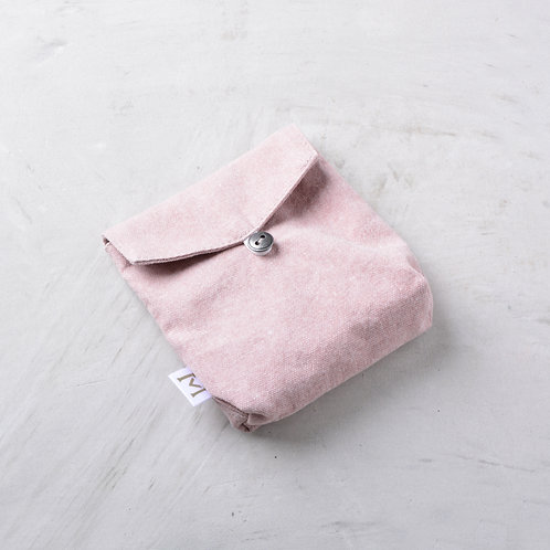 Fabric Mask Pouch - Pink