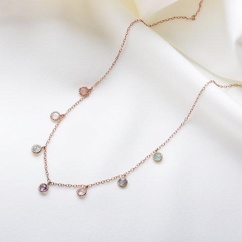 Mix Stone Necklace