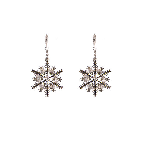 Crystal Snow Earrings