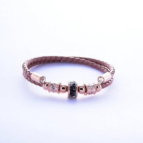 Kyra Single Roll Leather Bracelet
