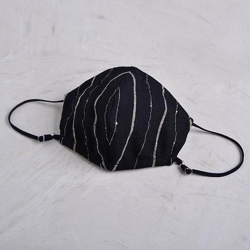 2-Layer Fabric Mask - Camilla Black