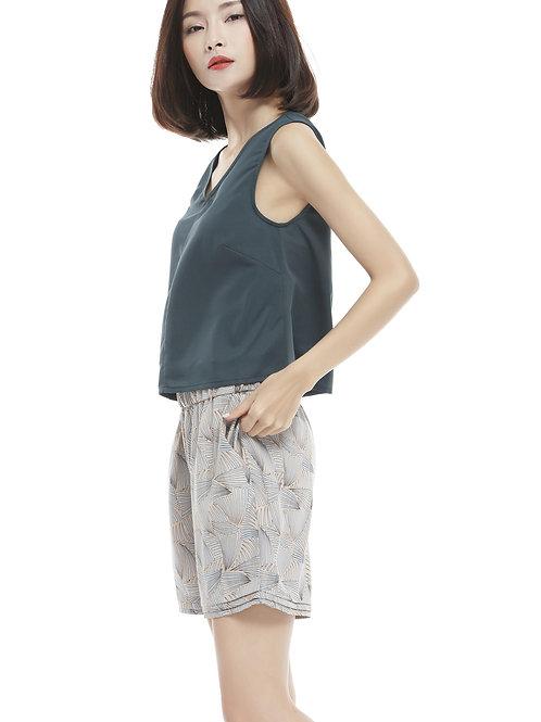 Tasha Ruffle Short Pants