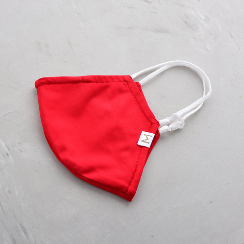 2-Layer Sport Mask - Red