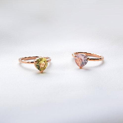 Triangle Cut Ring