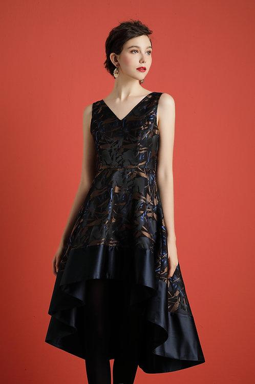 Courtney Asymmetric Dress