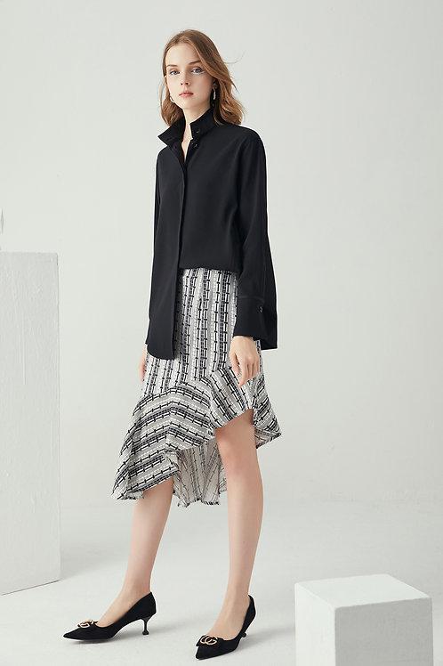 Leah Asymmetric Hem Skirt