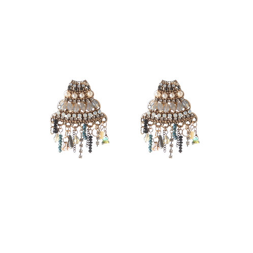 Crystal Stack up Earrings