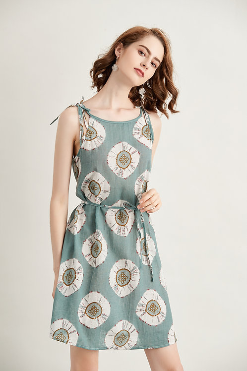 Trisha Dandelion Print Dress