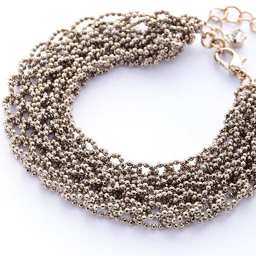 Lace Statement Bracelet - Copper