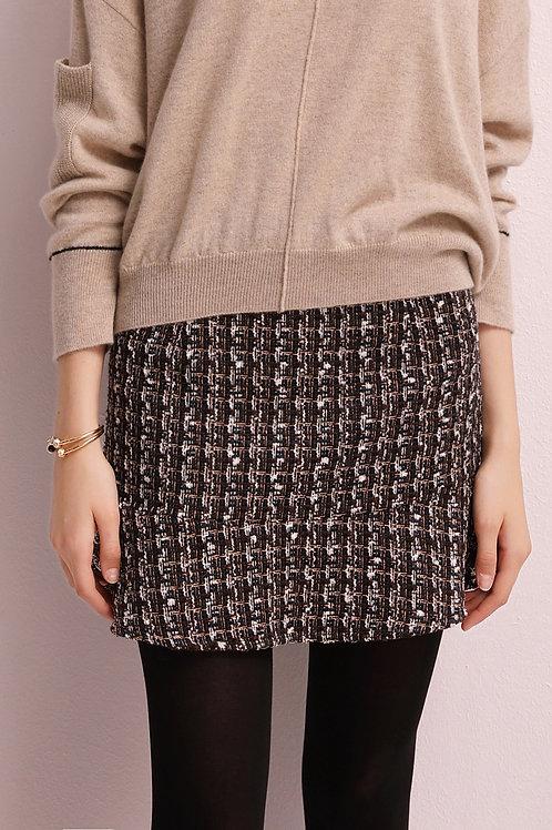 Gloria Tweed Skirt
