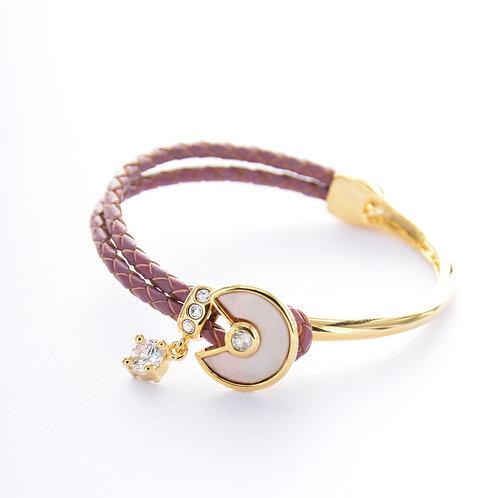 Shadd Seashell Bracelet - Red