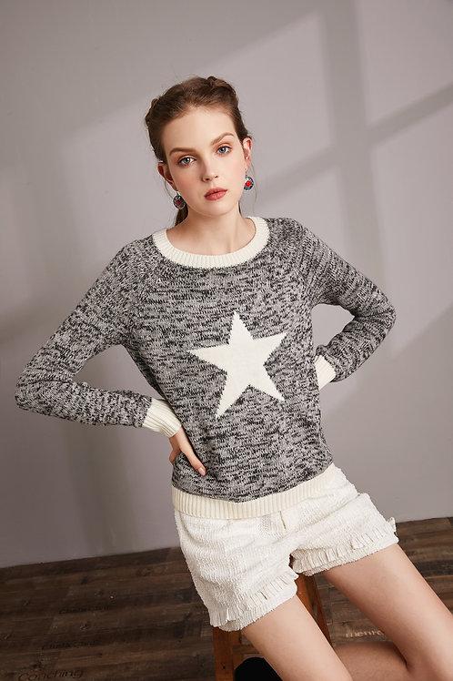 Star Blue Sweater
