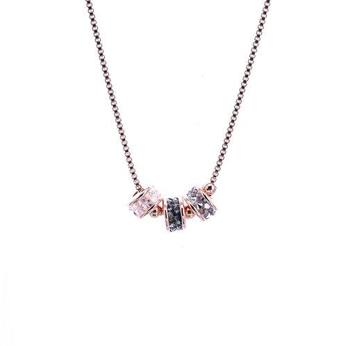 Kyra Single Roll Short Necklace