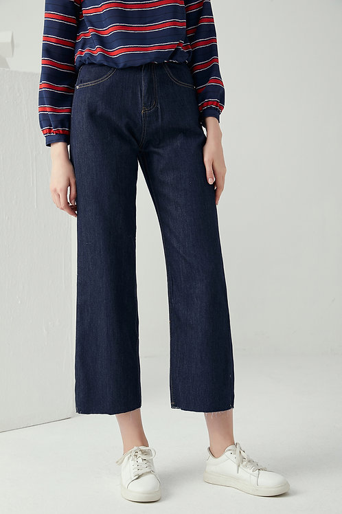 Nita Raw Edge Jeans