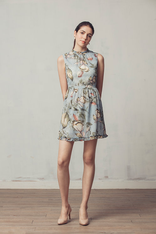 Murray Floral Printed Dress