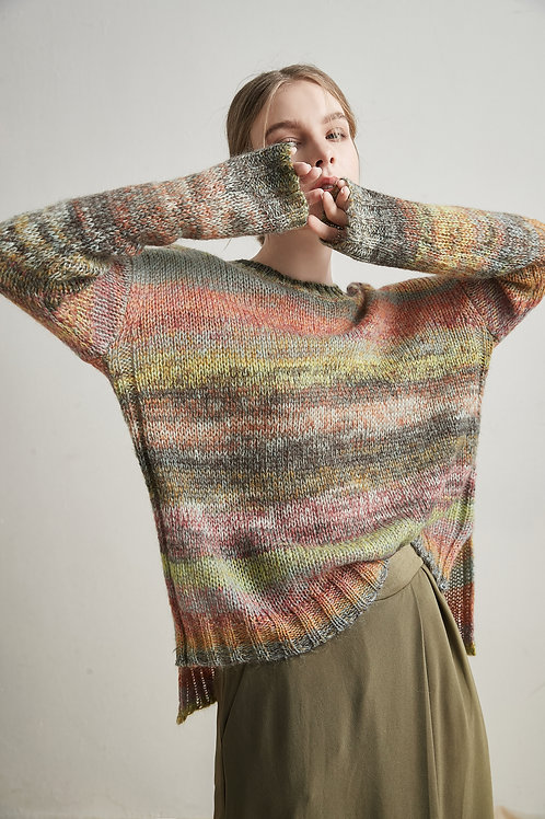 Maya Rainbow Sweater