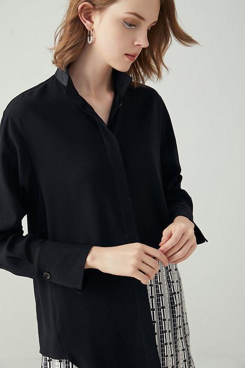 Leah Black Shirt