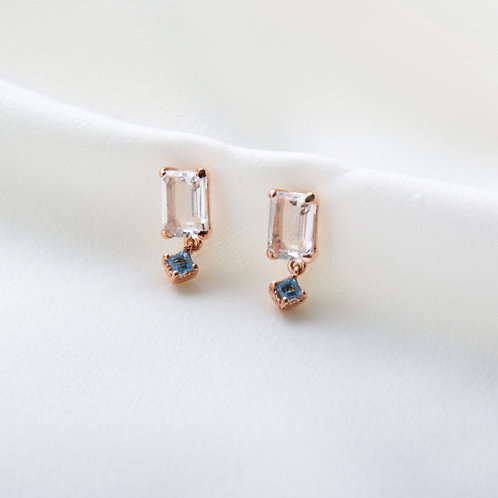 Square Cut Earrings
