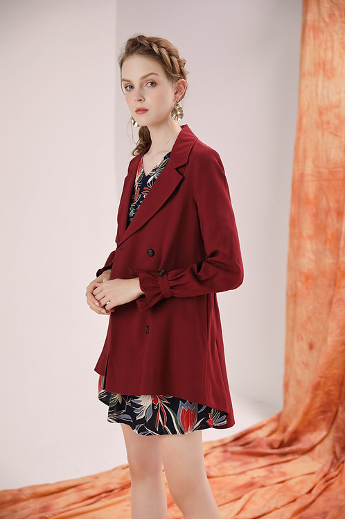 Gretta Bishop Sleeve Trench Coat