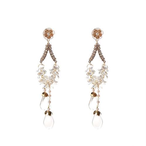 Pear Shape Dangling Earrings