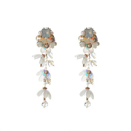 Aligned Flower Earrings