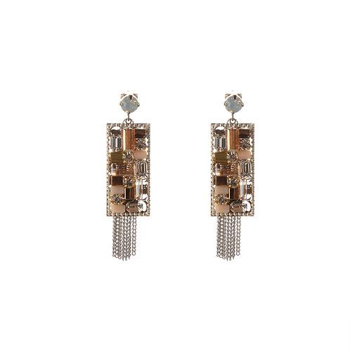 Moasic Crystal Earrings