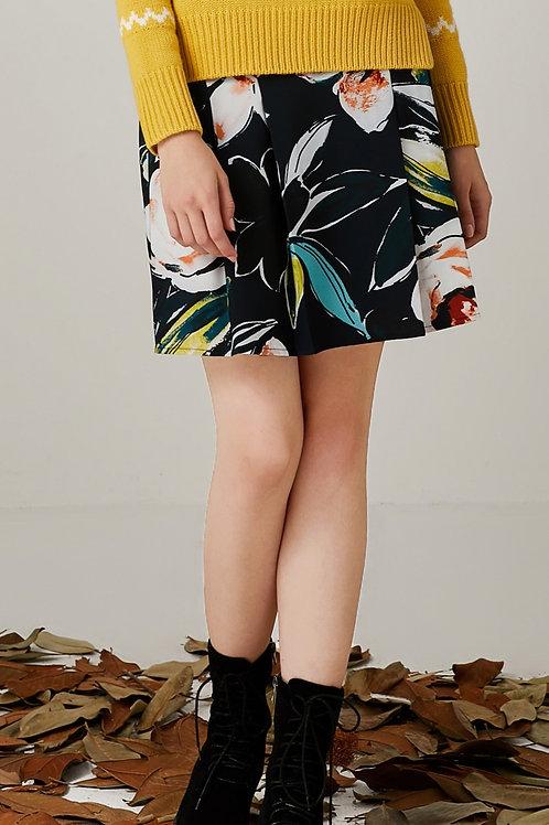 Kendra Floral Printed Skirt