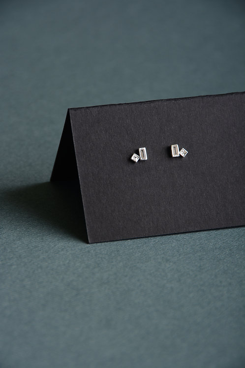 Rectangle and Square Earrings