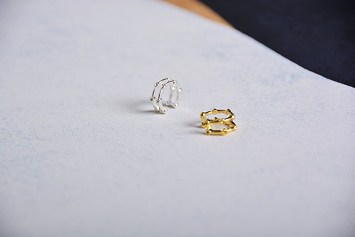 Double Line Up Ear Cuff