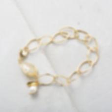 Grey Stone Bracelet