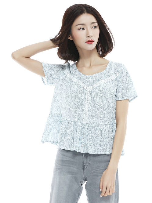 Elyza Trimmed Top