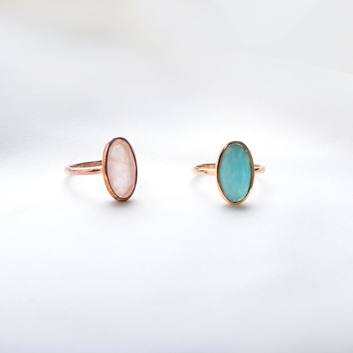 Long Oval Ring