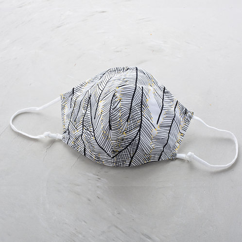 2-Layer Fabric Mask - Effie Leave