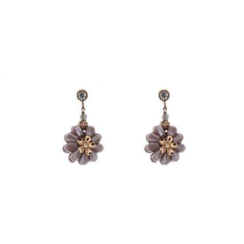 Diana Floral Drop Earrings