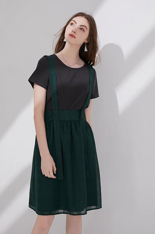 Tilda Checked Slin Skirt