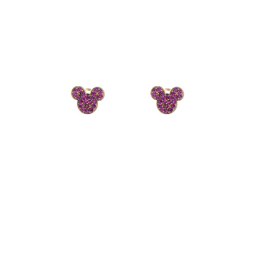 Mickey with Pink Crystal