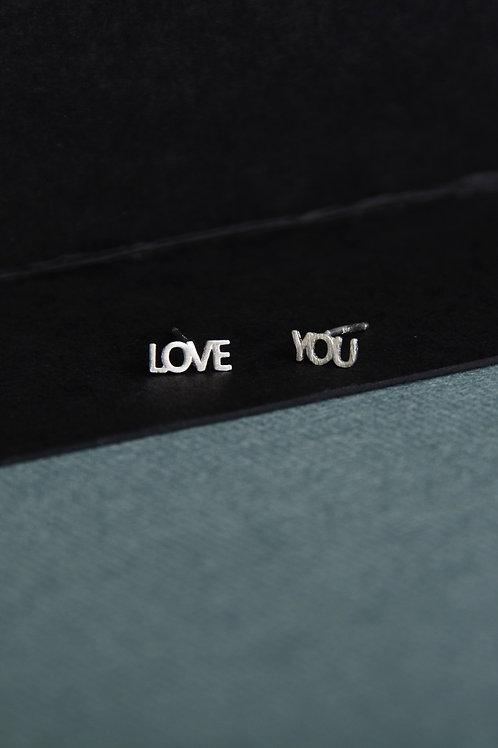 Love You Earrings