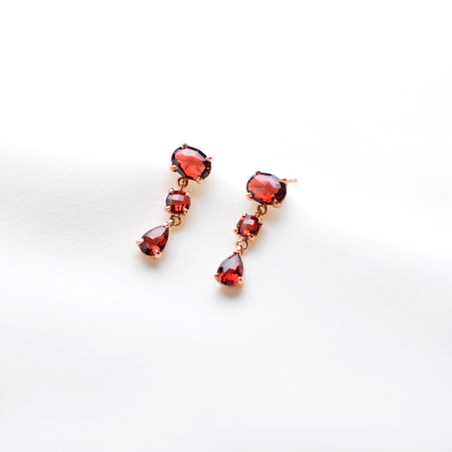 Ginia Row Earring