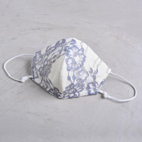2-Layer Lace Mask - Jodie Blue