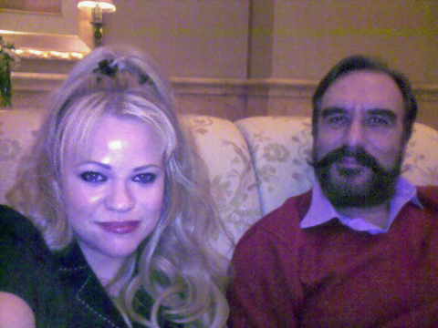 Mr. Ansar Burney und Jennah im Emirates Palace