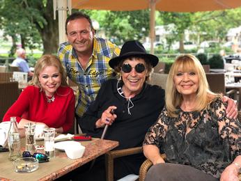 Jennah Karthes mit Tommy Precht, Tony Marshall und Cindy Berger in Baden-Baden
