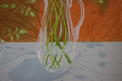 Detail from Stems and Shadows