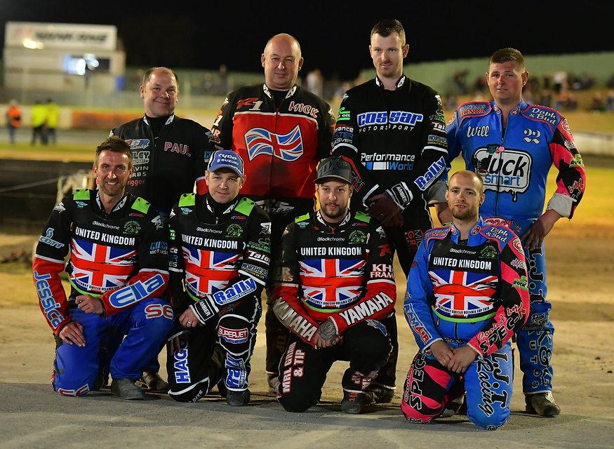 British Team Sidecar Speedway World Cup 2018