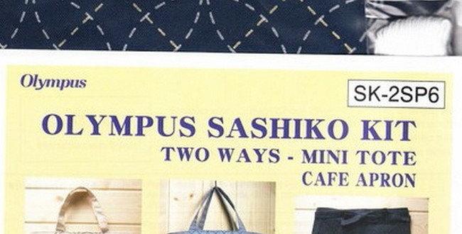 Olympus Sashiko 2-way Kit ~ Shippo Navy (SK-2SP6) x3