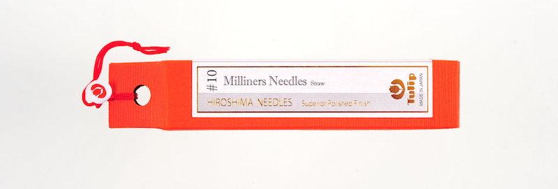 Tulip Milliners Needles #10 (6 packs per box)