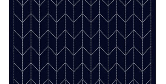 Sashiko Sampler Placemat - Arrows (L-2002)