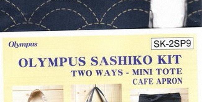 Olympus Sashiko 2-way Kit ~ Seikaiha Navy (SK-2SP9) x3